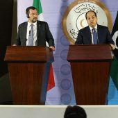 Libyen gegen Aufnahmelager