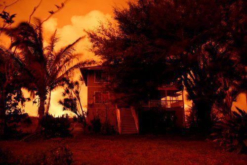 Seit Beginn des Vulkanausbruchs hat die Lava über 460 Häuser zerstört. Reuters