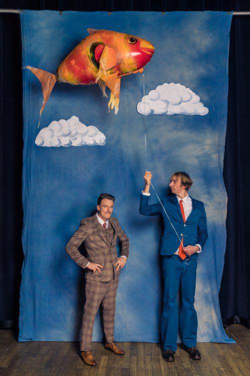 Senkrecht & Schunter präsentieren eine eigene unverwechselbare Comedy-Show. senkrecht&schunter
