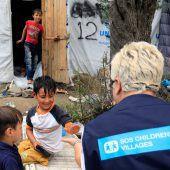 Millionen Kinder auf der Flucht