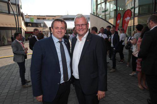 Stadtrat Christoph Thoma (l.) und Bürgermeister Thomas Steiner (Eisenstadt).