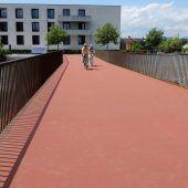 Neue Brücke über Dornbirner Ache