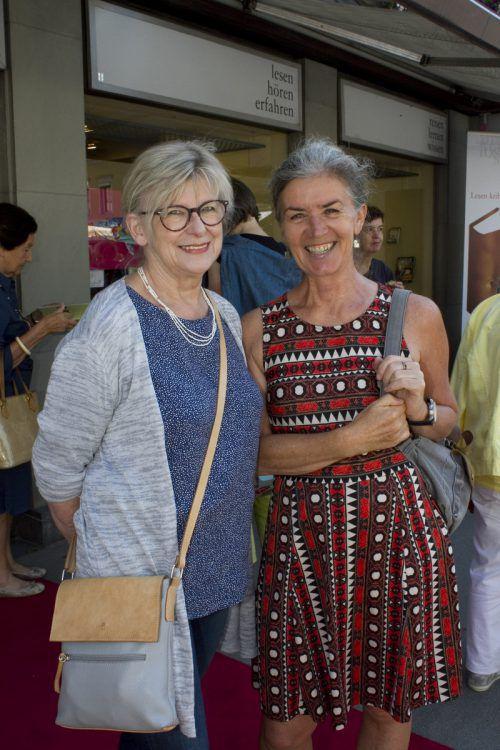 Sylvia Nagel (l.) und Brigitte Wendl.