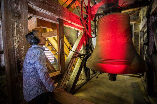 Thomas Dür präsentierte im Laurentiusturm eine Klanginstallation. VN/Steurer