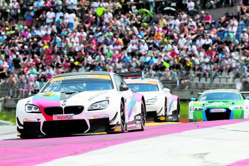 Timo Scheider punktete mit dem Schnitzer-BWM auch im dritten Rennen des GT Masters und liegt in der Gesamtwertung auf Platz fünf.noger