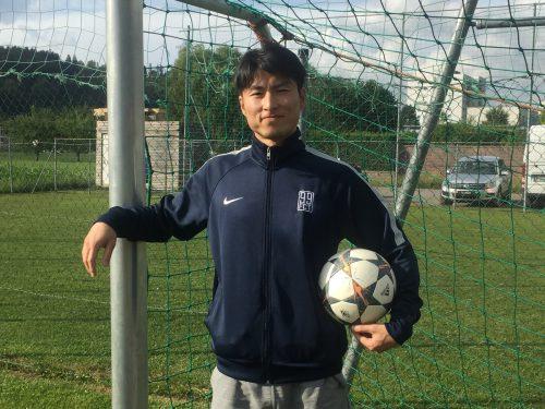 Toshiya Kurihara ist Architekt und spielt in seiner Freizeit beim preisgekrönten Hobbyklub FC Tosters 99. VN/Mef