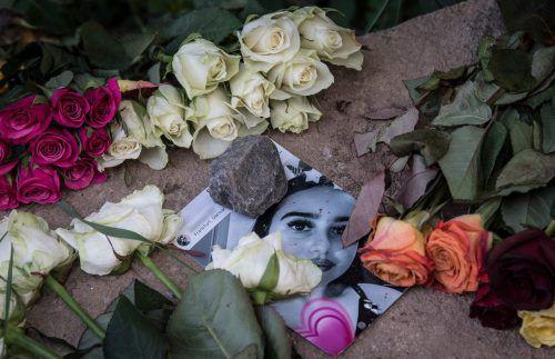 Trauer um Susanna: Die 14-Jährige wurde vergewaltigt und getötet. AFP