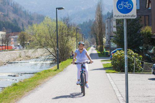 Um das Rad für den alltäglichen Gebrauch noch attraktiver zu machen, werden immer mehr Fahrradstraßen angelegt.vn/steurer