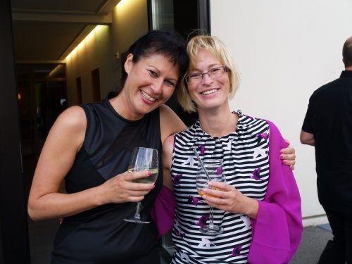 Unter den Gästen: Alexandra Puchinger und Doris Pröbstl.