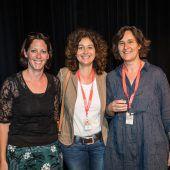 "<p class=""caption"">(V. li.): Nina Winkler (edition v), Patrizia Gunz (VN), Karin Klas (Ambach).</p>"