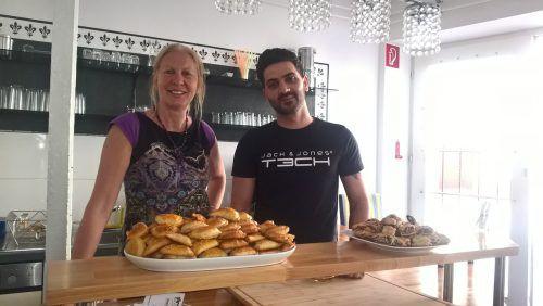 Vindex-Chefin Eva Fahlbusch und Mahmood Krze haben mit dem Vereinscafé Morano einen Treffpunkt für Menschen aus aller Welt geschaffen. hrj