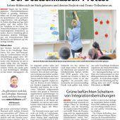 Gegen Deutschklassen