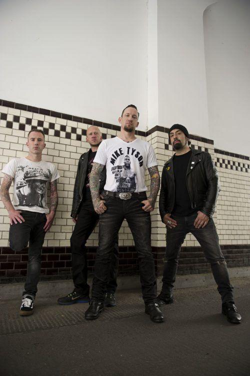Volbeat haben eine unvergleichliche Herangehensweise an die Musik, wie wenn man Elvis auf Metallica prallen lässt.volbeat/soundevent