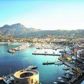 Die schöne Hafenstadt Calvi