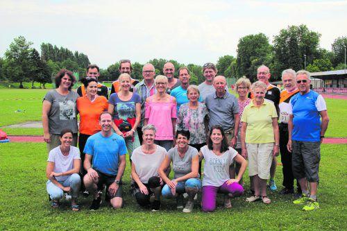 Vorarlbergs Aktive bei der ÖLV-Mastersmeisterschaft der Leichtathleten.Verband