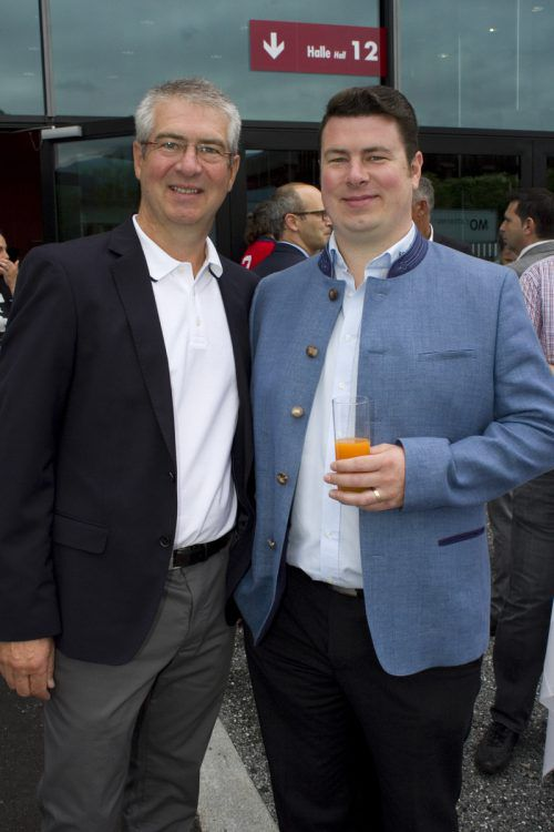 Walter Dalmonek (OCT) und Daniel Dalmonek (Reumiller Bestattung).