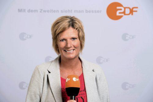 War Zielscheibe von Anfeindungen: WM-Kommentatorin Claudia Neumann.ap