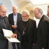 Bischöfe besuchten Jubiläumsausstellung