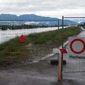 Katastrophenstimmung im Rheintal