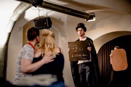Zum Feldkircher Stadtjubiläum stehen junge Sänger des Landeskonservatoriums auf der Bühne des Saumarkt-Theaters. Victor Marin