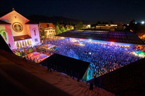 """Zum """"Sommer.Lust am Platz""""-Auftakt präsentiert sich die Rheintalische Musikschule. marcel hagen/lustenau"""