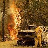 Feuer in Kalifornien lodern weiter