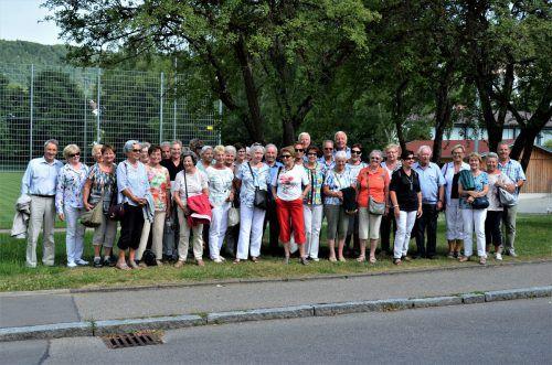 42 Mitglieder des Seniorenbundes Altach waren beim diesjährigen Sommerausflug in das idyllische Städtchen Blaubeuren mit dabei. Seniorenbund Altach
