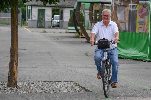 Ab sofort hat Hubert Nagel weniger Termine in Wien und kann mehr Wege auf dem Fahrrad zurücklegen.VN-Lerch