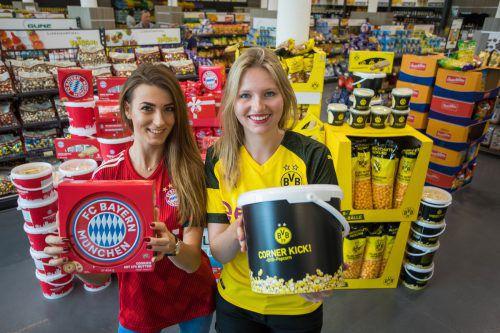 Alma (links) und Juliane entschieden sich schnell für einen der beiden deutschen Spitzenvereine.Steurer/2