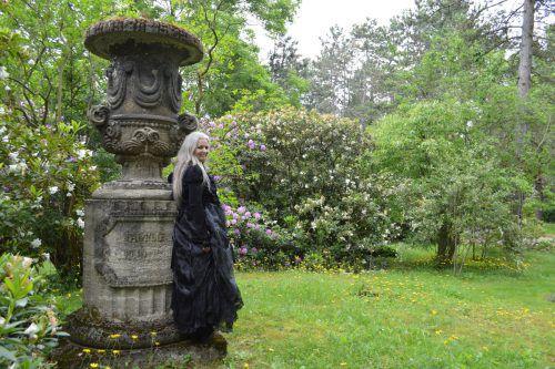 Als Goth hält sich Karin Andres gern an mystischen Orten auf.  andres