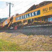 Bauarbeiten bringen Fahrplan durcheinander