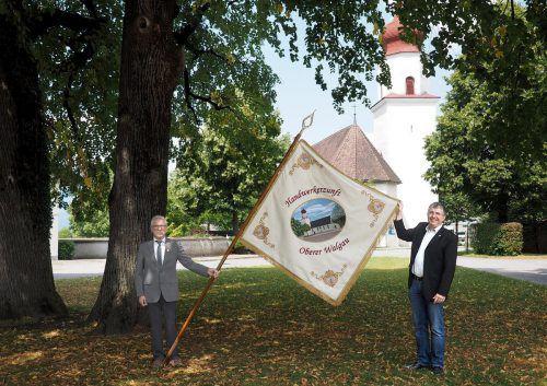 Am 22. Juli wird die neue Fahne der Handwerkerzunft Oberer Walgau geweiht. Tmh