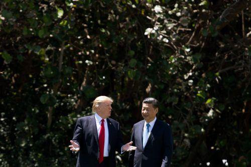 """""""Amercia first, es geht nicht anders"""", soll US-Präsident Trump dem chinesischen Präsidenten Xi Jinping seine eigenwillige Handelspolitik erklärt haben.AFP"""