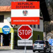 Befristete Kontrollen an österreichischer Brenner-Grenze