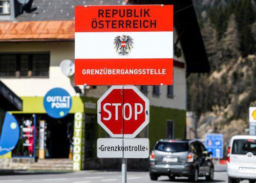An der Brenner-Grenze werden befristete Kontrollen durchgeführt. reuters
