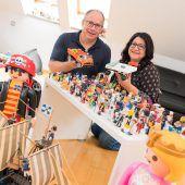 Große Leidenschaft für kleine Plastikfiguren