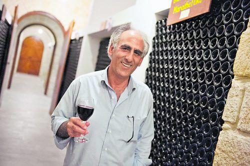 Andreas Kyriakides baut auf Zypern seit vielen Jahren Wein an. beate rhomberg