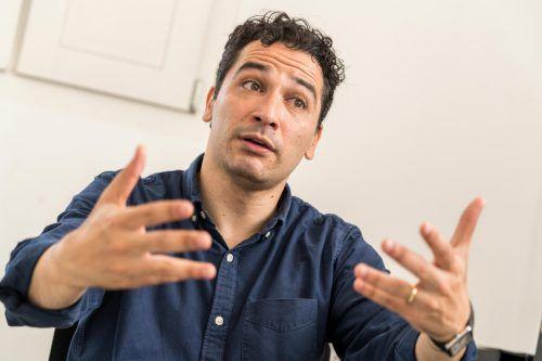"""Andrés Orozco-Estrada: """"Für mich ist der Klang eines Orchesters das Entscheidende."""" VN/Stiplovsek"""