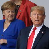 Beim Nato-Gipfel greift Trump Deutschland frontal an