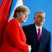 Merkel sprach mit Orban über Migration