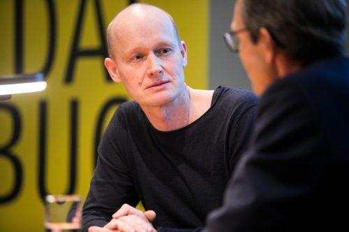 """Arno Geiger: """"In der Tiefe der Gestalt stößt Literatur, wenn sie großartig ist, auf grundsätzlich Menschliches."""" Sams"""