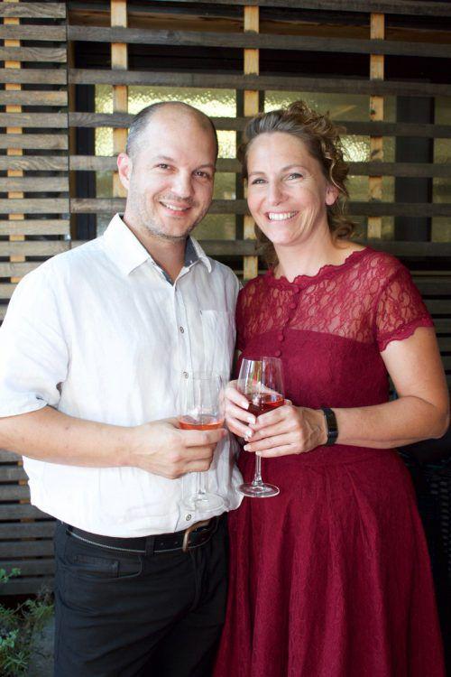 Auch Jeannette und Andy Bobos (V Zwei) genossen den Abend.
