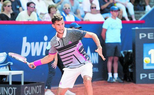 Aus im Viertelfinale: Dominic Thiem, im Hamburg als Topfavorit gesetzt, verlor gegen Nicolas Jarry.gepa