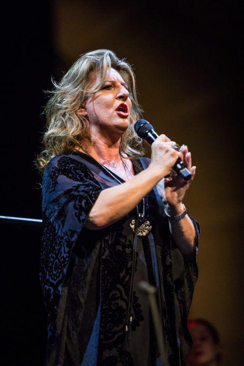 Ausdrucksstarke Stimme: Christiane Boesiger.