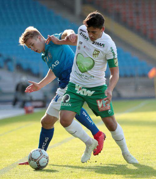 Austria-Lustenau-Kapitän Marco Krainz und sein Team werden alles daran setzen erfolgreich in die neue Saison zu starten und die zweite Cup-Runde zu erreichen.gepa