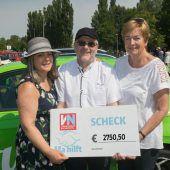 Viel Nostalgie und 2750 Euro für Ma hilft