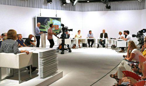 Beim Wettbewerb um den Bachmann-Preis haben die Kandidaten jeweils 25 Minuten Zeit, um ihre Texte vorzutragen. APA