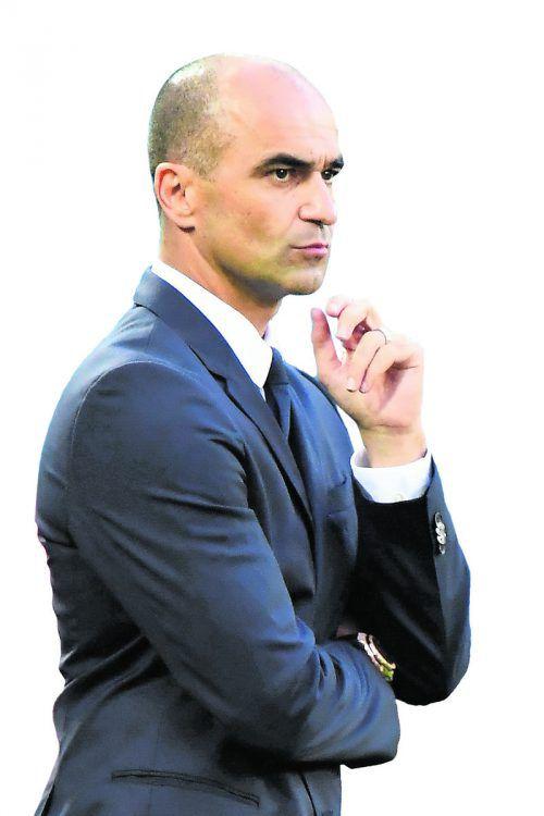 Belgiens Teamchef Roberto Martinez.afp