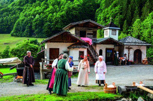 """Berggöttin """"Raitia"""" wird auch heuer bei den Montafoner Sagenfestspielen aufgeführt."""