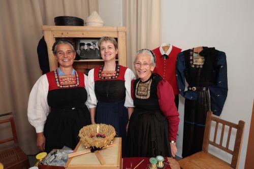 Bernarda Gmeiner, Herlinde Moosbrugger und Reinelde Sieber.